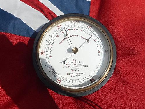 Fisherman's aneroid barometer
