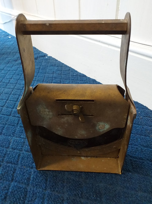 Russian brass inclinometer
