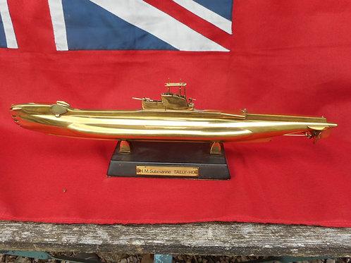 Bronze HM Submarine Tally-Ho model