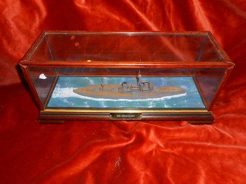 Scale model HMS Dreadnought