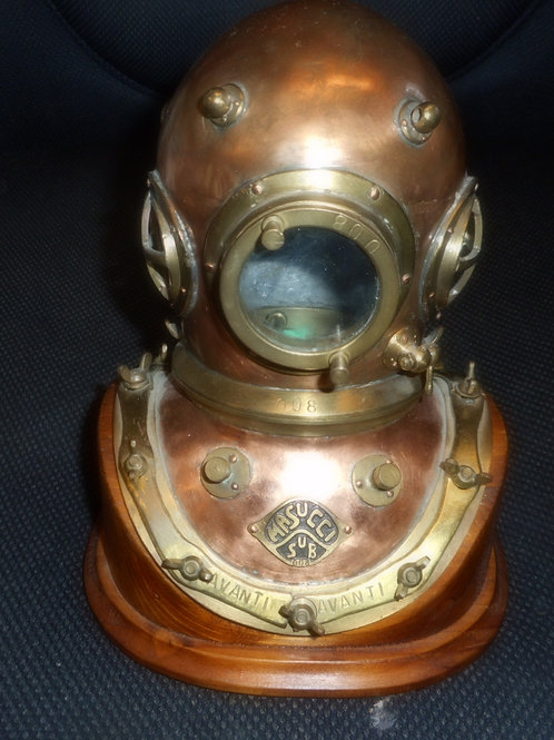 Miniature Masucci diving helmet