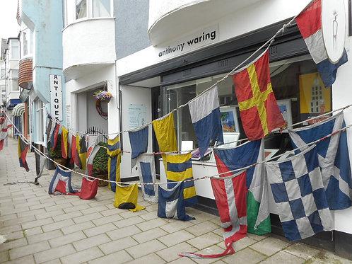 Ships dress flags