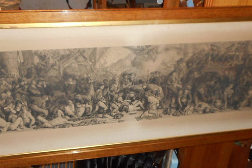 'The Death of Nelson' engraving