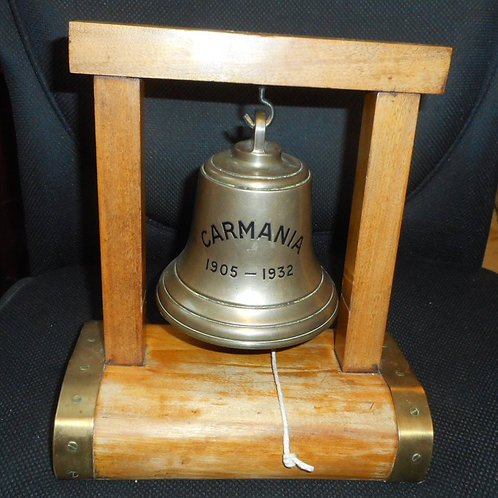 'Carmania' - Cunard line ships bell