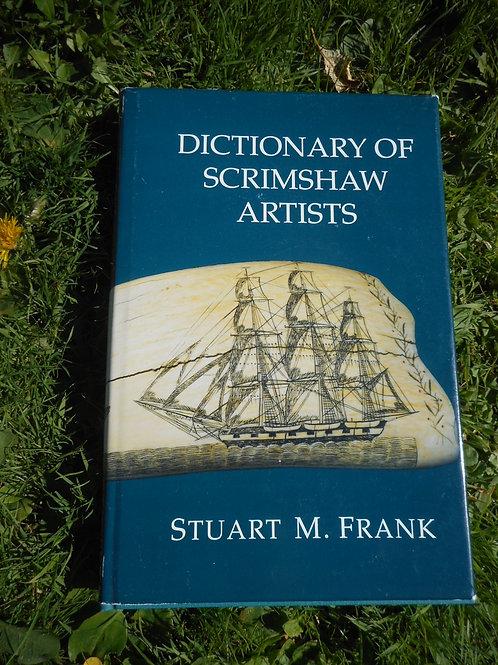Dictionary of Scrimshaw artist