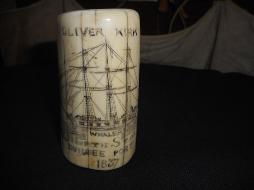 No.352 - solid standing Walrus tusk - Whaler North Star