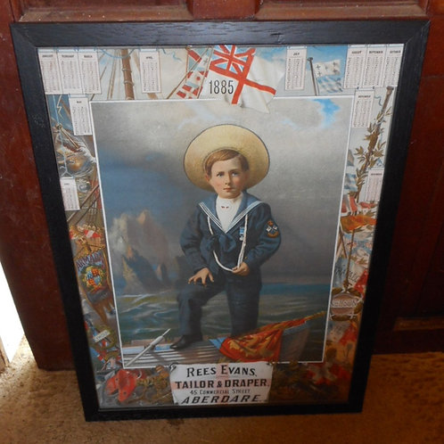 Reproduction print of a Sailor boy