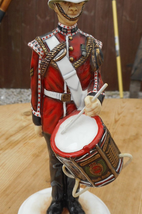 Drummer, The Kings Regiment by Michael Sutty