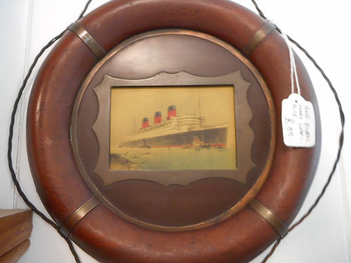 Queen Mary life ring frame