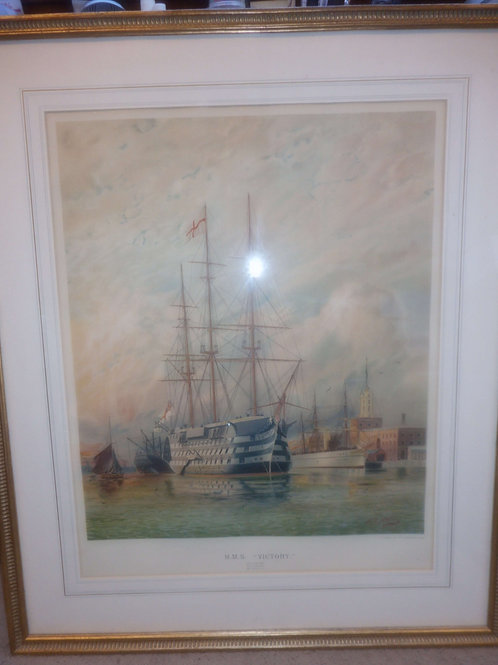 HMS Victory picture by Atkins