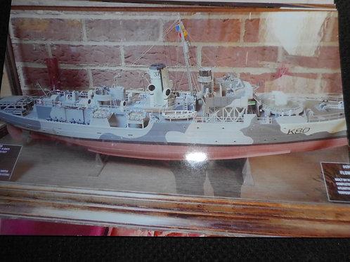 HMS Bluebell ships model
