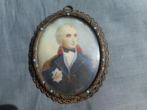 Nelson miniature signed Rene