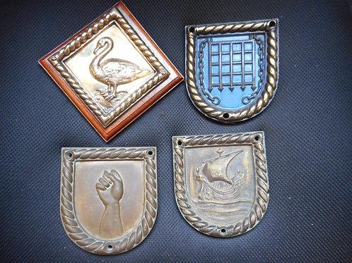 Four ships badges