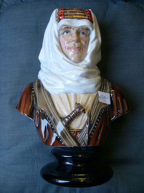 Lawrence of Arabia bust by Michael Sutty