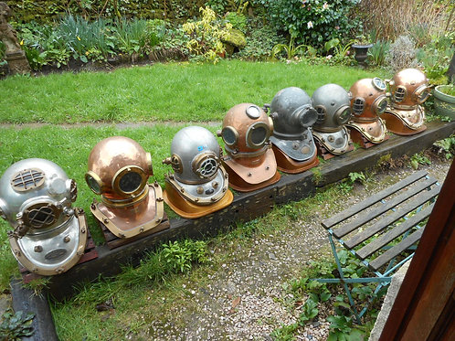 Selection of Diving Helmets