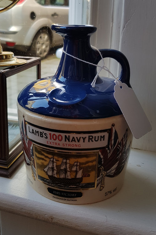 Lambs Navy Rum decanter