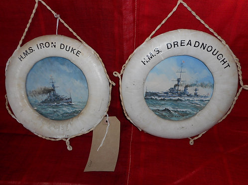 HMS Life rings - Oil paintings