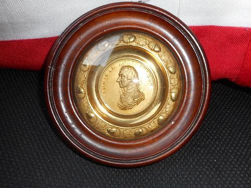 Nelson circular gilt tondo