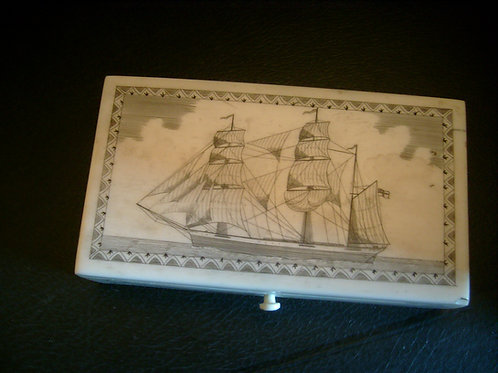 No. 58 Scrimshaw box