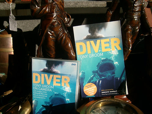 'Diver' book by Tony Groom