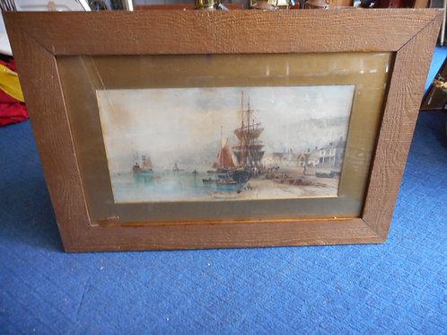 Watercolour of Dartmouth