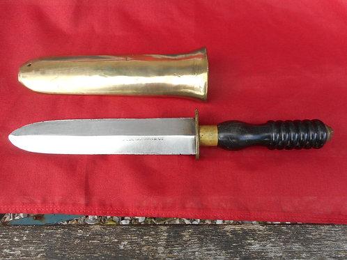 Stamped Siebe Gorman divers knife