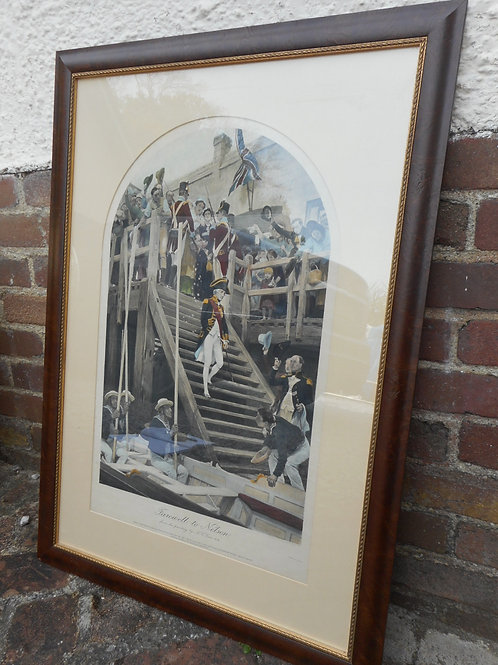 'Farewell to Nelson' - Print