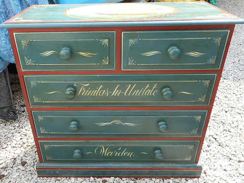 Ex Trinity House chest of drawers 'Warden'