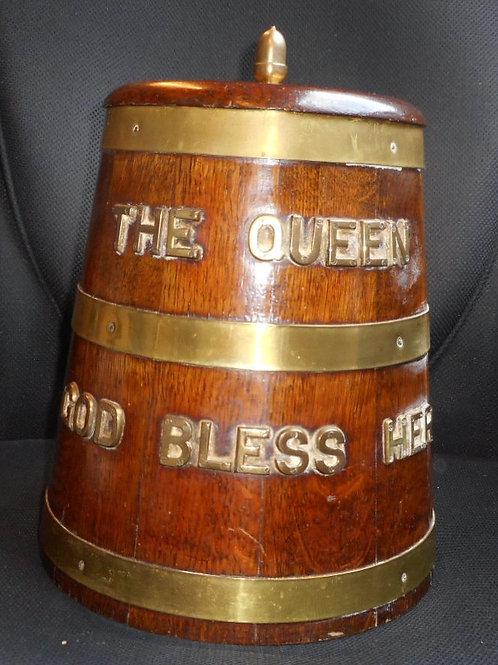 Ice bucket R.N rum barrel