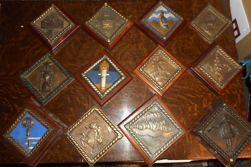 More H.M.S Boat badges