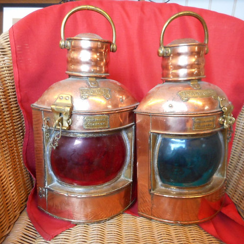 Pair of Port and Starboard lights