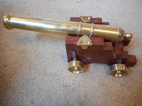 Brass canon - HMS Victory replica