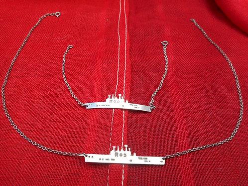 Ark Royal R09 necklace and bracelet