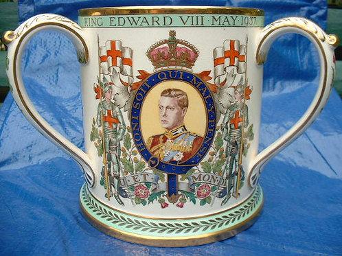 King Edward V111 Copeland Spode tyg