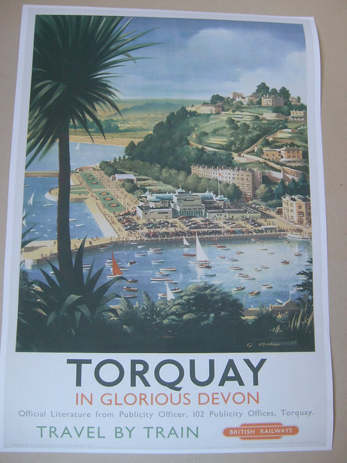 Torquay - BR advertising poster