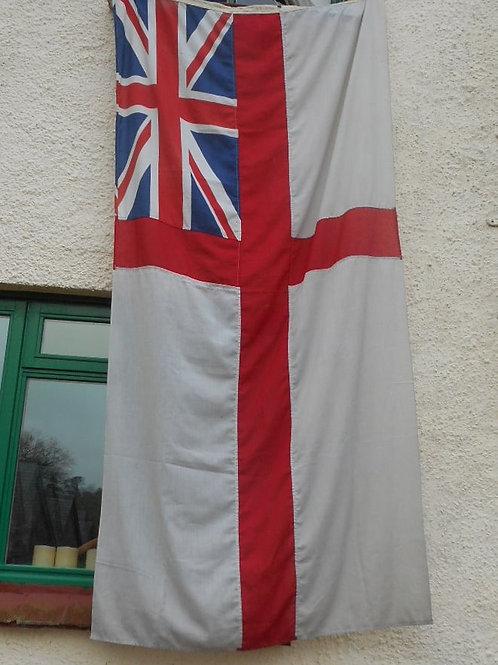 Large R.N White ensign