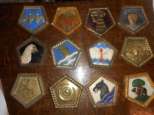 Small H.M.S Cruiser ships badges