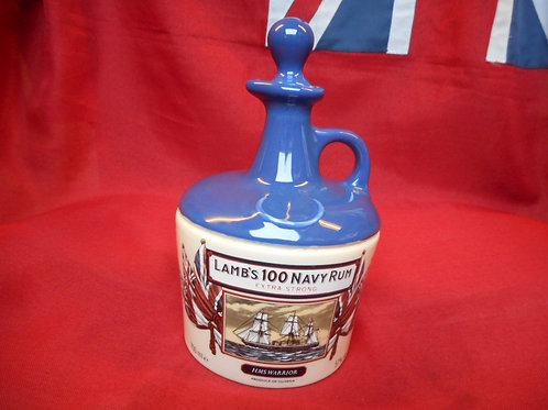 Lambs 100 Navy Rum flagon - empty