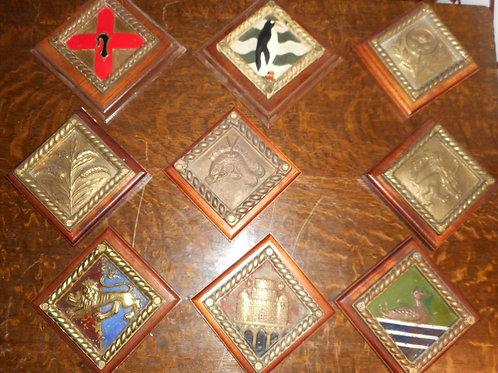 H.M.S Boat badges