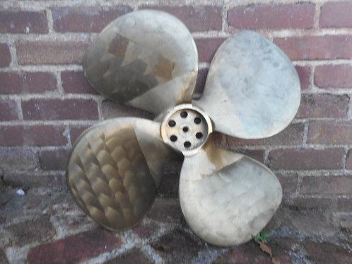Four blade propellor