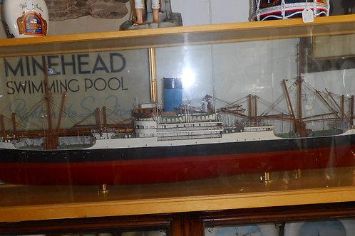 'Automedon' Boat model