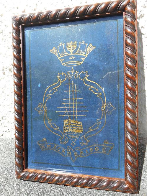 HMS Cambridge door panel