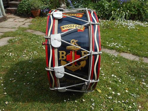 Boys brigade drum