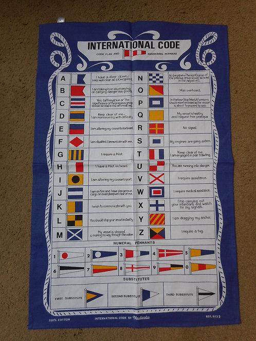 Signal flag galley cloth