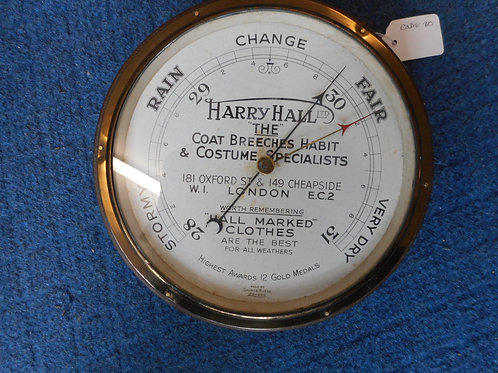 Barometer - Harry Hall by Short and Mason