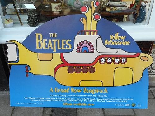 Beatles Yellow submarine advert