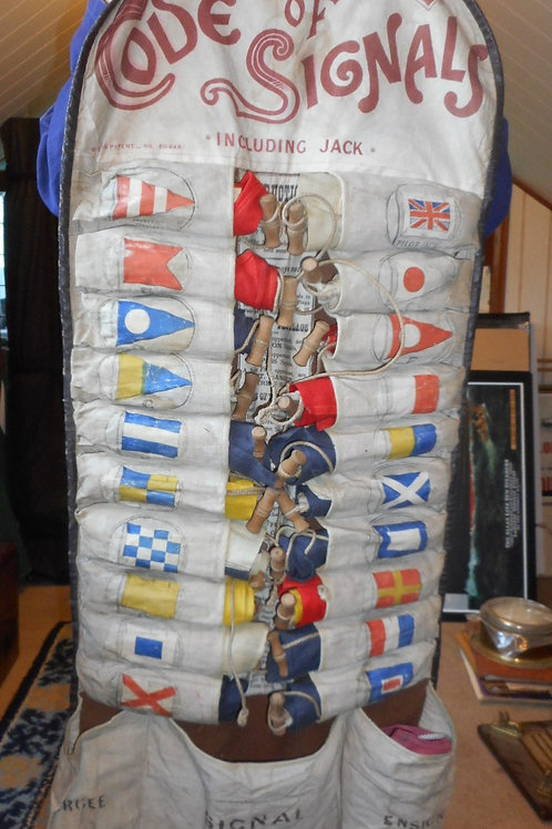 1930's roll of Signal flags