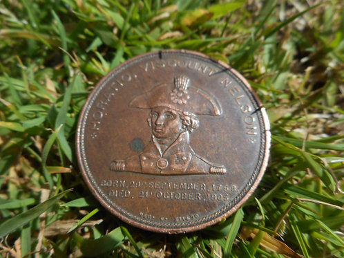 1897 Lord Nelson commemorative coin