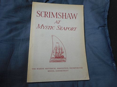 Book - Scrimshaw At Mystic Seaport