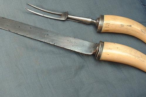 No.177. Scrimshaw carving set